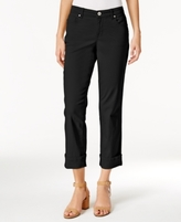 Style&Co. Style & Co Style & Co Petite Curvy-Fit Capri Jeans, Created for Macy's