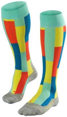 Falke Sk4 Brick Acrylic Blend Ski Socks