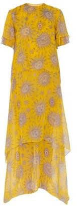 Maison Rabih Kayrouz Long printed dress