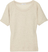 James Perse Cotton and linen-blend sweater