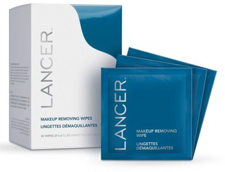 Lancer 30-Piece Makeup Removing Wipes