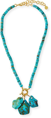 Nest Jewelry Turquoise Charm Necklace