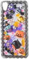 Halloween Theme Phone Case for,Yaheeda 3D Handmade Pumpkin Demon Cartoon Design Clear Cellphone Cover
