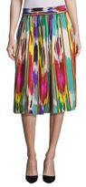 Etro Ikat Printed Skirt