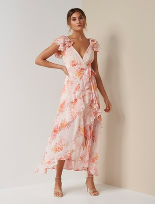 Ever New Ellery Frill Maxi Dress