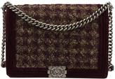 Chanel Boy tweed handbag