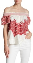 Plenty by Tracy Reese Embroidered Knit Blouse