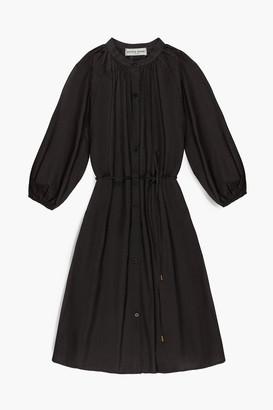 Apiece Apart Black Mini Hisa Dress