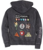 Butter Shoes Girls' Loves Bloomingdale's Hoodie, Big Kid - 100% Exclusive