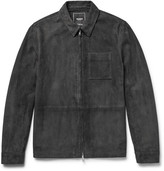 Todd Snyder Suede Shirt Jacket