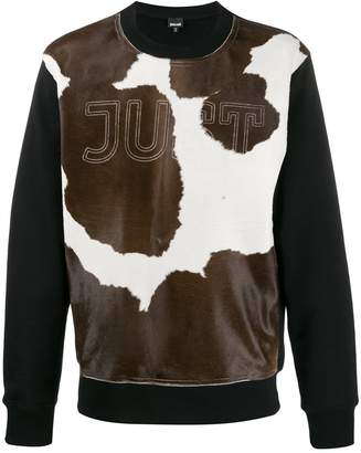 Just Cavalli cow-print sweatshirt