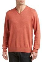 Alex Cannon Marled V-neck Sweater.