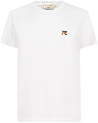 MAISON KITSUNÉ Fox Head Patch Classic T-Shirt