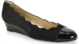 French Sole Miles - Scalloped Wedge