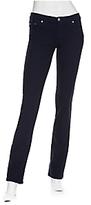 Mod Straight Jeans: Navy
