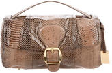 Furla Snakeskin Handle Bag