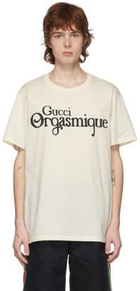 Gucci Off-White Orgasmique T-Shirt