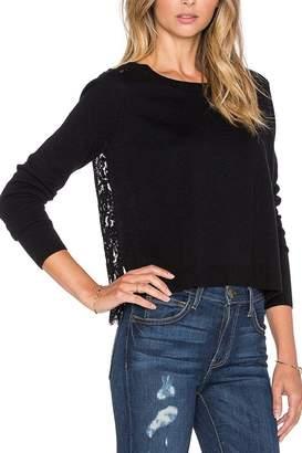 Joie Matrika Lace-Back Sweater