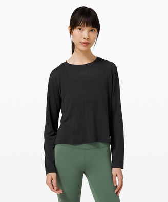 Lululemon Train to Be Long Sleeve