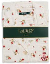 Lauren Ralph Lauren Classic Cotton Top and Pants Pajama Set