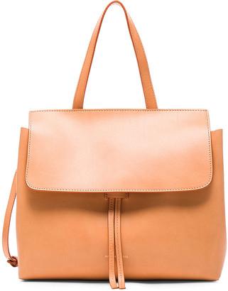 Mansur Gavriel Mini Lady Bag in Cammello & Rosa | FWRD
