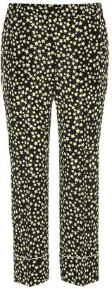 N°21 Star printed silk pants