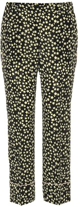 N°21 Star printed silk pants