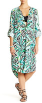 Mara Hoffman Aloe Cover-Up Shirt Dress