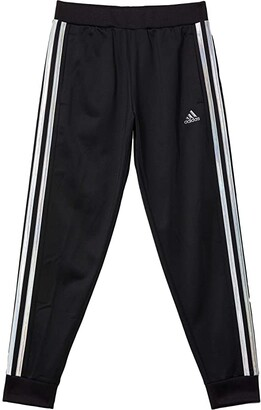 Adidas Originals Kids Tricot Color Joggers (Big Kids) (Black/Silver) Girl's Casual Pants