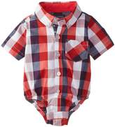Andy & Evan Baby-Boys Newborn Buffalo Check Shirtzie