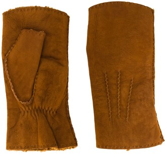 Holland & Holland Shearling Mittens