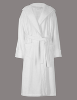 Autograph Pure Cotton Towelling Dressing Gown