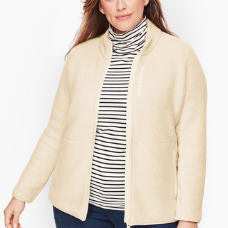 Talbots Polartec Sherpa Fleece Jacket