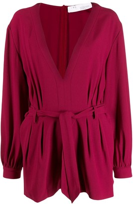 IRO belted playsuit