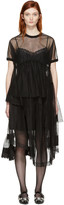Simone Rocha Black Tulle Top