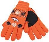 Adult Forever Collectibles Denver Broncos Lodge Gloves