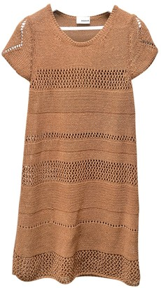 Rodier Camel Silk Dress for Women