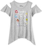Disney Disney's® Emoji Cold-Shoulder Shirt, Big Girls (7-16)