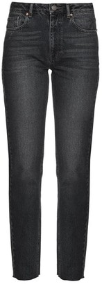 Raey Rail High-rise Straight-leg Jeans - Black