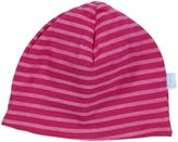 I Play Brights Organic Reversible Twist Cap (Baby) - Fuchsia-0-3 Months
