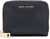 Marc Jacobs Saffiano Bicolor Zip Card Case