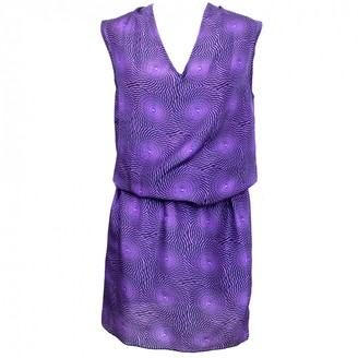 Marni Purple Silk Dresses