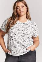 Forever 21 Plus Size Doodle Graphic Tee