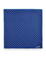 Lanvin Four-Color Polka-Dot Pocket Square