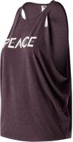 New Balance Burgundy 'Peace' Layering Tank - Women