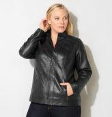 Avenue Perforated Moto Jacket