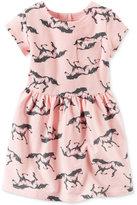 Carter's Horse-Print Dress, Little Girls (2-6X)