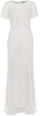 Phase Eight Leonora Sequin Embroidered Bridal Dress