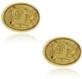 David Yurman 22K Yellow Gold Lion & Ox Cufflinks