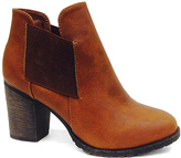 Dollhouse Chestnut Ace Ankle Boot